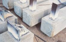 concrete pile embed welds